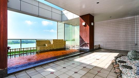 万葉の湯の温泉画像